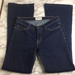 Current/Elliot dark wash flare jeans